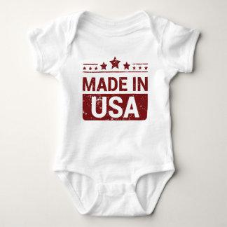 Body Para Bebê Feito no Bodysuit do bebê do estilo do grunge dos