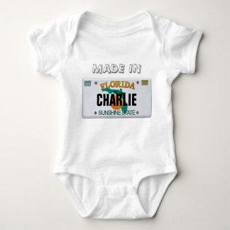 Body Para Bebê Feito no Creeper (customizável) de Florida
