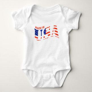 Body Para Bebê FEITO no terno do corpo do bebê do design dos EUA
