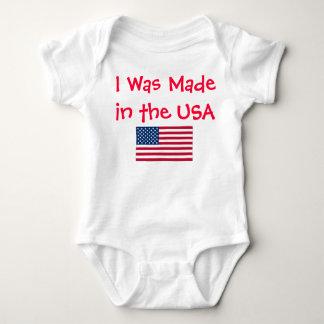 Body Para Bebê Feito nos EUA