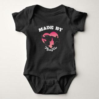 Body Para Bebê Feito pela obscuridade infantil do bodysuit de
