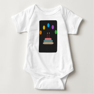 Body Para Bebê Feliz aniversario