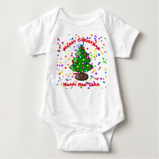 Body Para Bebê Feliz Natal & feliz ano novo