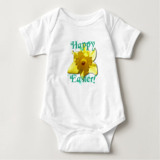 Body Para Bebê Felz pascoa, Daffodil 01.2.T