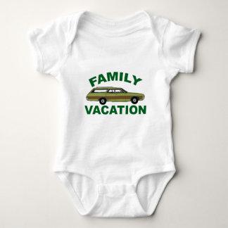 Body Para Bebê férias em família 80s