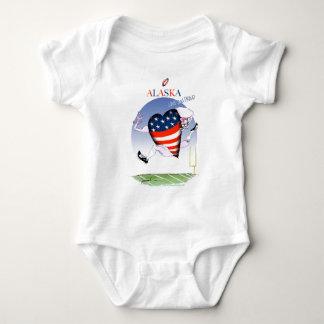 Body Para Bebê fernandes tony altos e orgulhosos de Alaska,