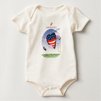 Body Para Bebê fernandes tony altos e orgulhosos de louisiana,