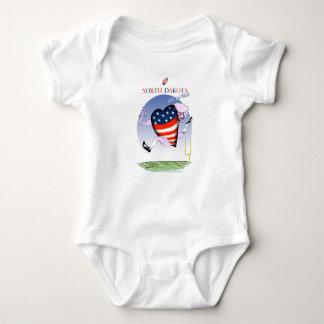 Body Para Bebê fernandes tony altos e orgulhosos de North Dakota,