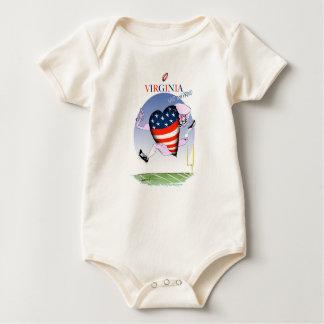 Body Para Bebê fernandes tony altos e orgulhosos de Virgínia,