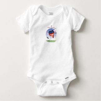 Body Para Bebê Fernandes tony altos e orgulhosos de Wyoming,