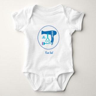 Body Para Bebê Ferramentas dos penteados