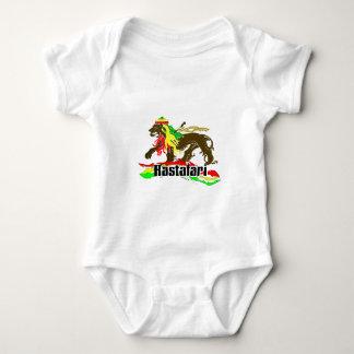 Body Para Bebê Ferro de Rasta da reggae, leão, Zion 2