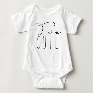 Body Para Bebê Festa de aniversário bonito de dois | segundo