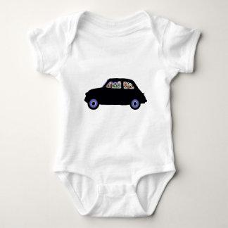 Body Para Bebê Fiat encheu-se com os crânios do açúcar