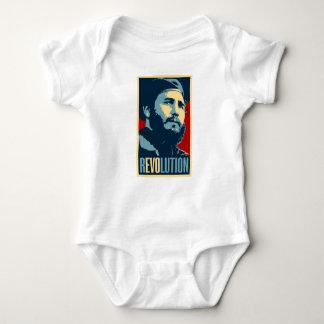Body Para Bebê Fidel Castro - presidente cubano da revolução de