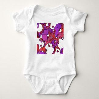 Body Para Bebê Filhóses cor-de-rosa