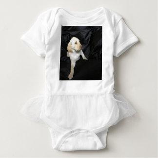 Body Para Bebê Filhote de cachorro amarelo Sadie do laboratório