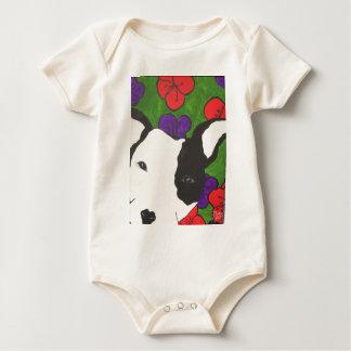 Body Para Bebê Filhote de cachorro com nariz do coração