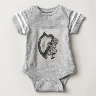 Body Para Bebê Filhote de cachorro da harpa