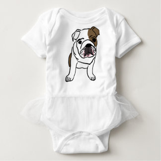 Body Para Bebê Filhote de cachorro inglês personalizado do