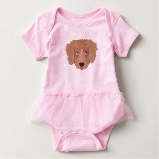 Body Para Bebê Filhote de cachorro insolente bonito