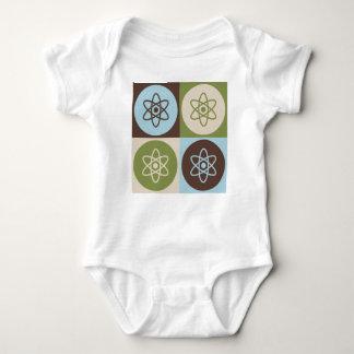 Body Para Bebê Física nuclear do pop art
