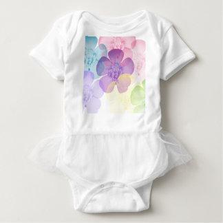 Body Para Bebê flor