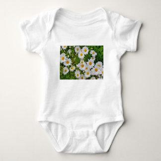 Body Para Bebê Flor da margarida branca