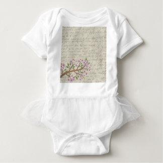 Body Para Bebê Flor de cerejeira