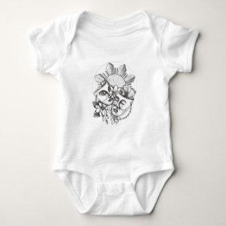 Body Para Bebê Flor S filipino de Sampaguita do hibiscus da