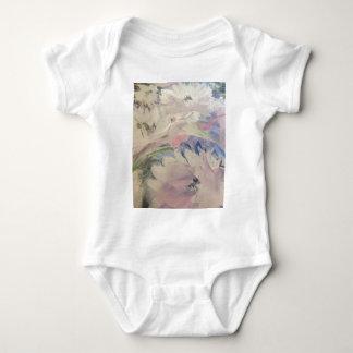 Body Para Bebê Floral Pastel