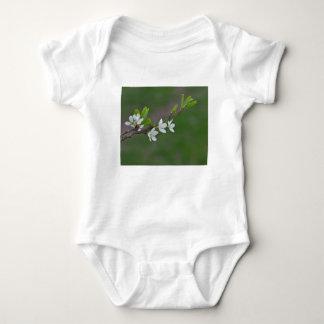 Body Para Bebê Flores da árvore de cereja