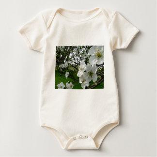 Body Para Bebê Flores de Apple