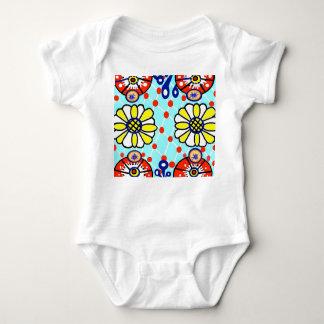 Body Para Bebê Flores do bodysuit do jérsei do bebê de Talavera