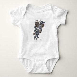 Body Para Bebê Flores do laço
