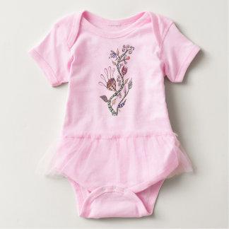 Body Para Bebê Flores lunáticas