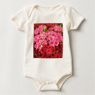 Body Para Bebê Flores nas Filipinas, no rosa e nas rosas