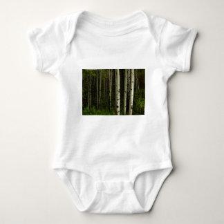 Body Para Bebê Floresta branca