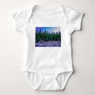 Body Para Bebê Floresta & céu do vale de Yosemite