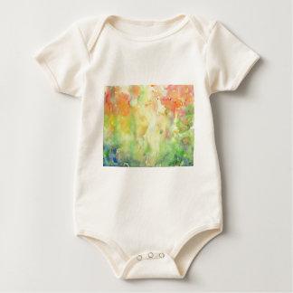 Body Para Bebê Floresta do outono da aguarela