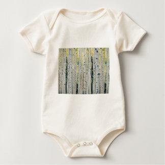 Body Para Bebê Floresta dos álamos tremedores - pintada