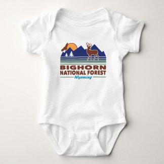 Body Para Bebê Floresta nacional Wyoming do Bighorn