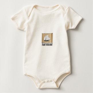 Body Para Bebê flutue seu marcador do barco