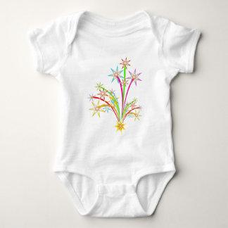 Body Para Bebê Fogos-de-artifício da celebração