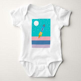 Body Para Bebê foguete
