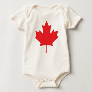 Body Para Bebê Folha de bordo canadense