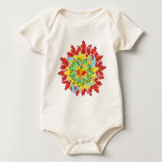 Body Para Bebê folha do outono