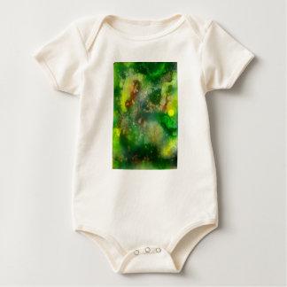 Body Para Bebê Folha interna