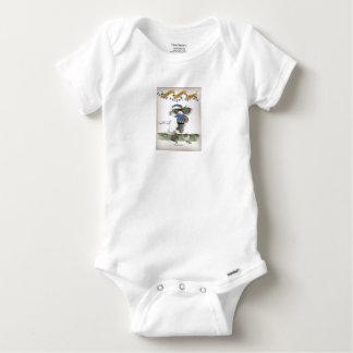 Body Para Bebê footballeur francês do capitaine