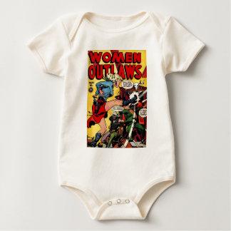 Body Para Bebê Fora da lei da vaqueira
